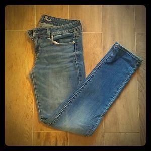 AE skinny jeans short